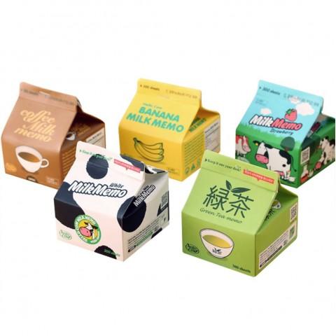 創意牛奶盒memo紙